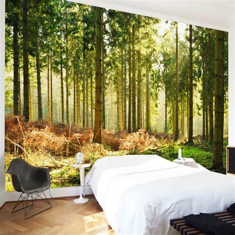 desain  tekstur wallpaper hutan  indah sinar