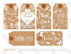 thank you gift tags template free printable administrative assistant gift tags