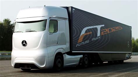 future mercedes truck mercedes benz future truck 2025 mercedes benz