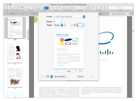 visio viewer print official cisdem document reader for mac doc pdf xps
