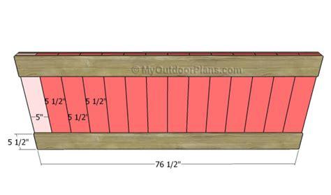 building a size bed frame king size bed frame plans myoutdoorplans free