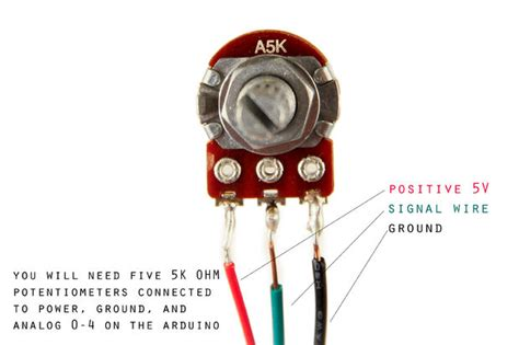how to connect variable resistor in breadboard 3 pin potentiometer diagram 3 free engine image for user manual
