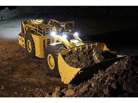 cat rh underground mining loader caterpillar