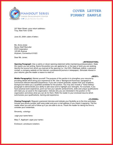 Proper Business Letter Format Cover Letter by Formal Letter Format Sle Sop Exles