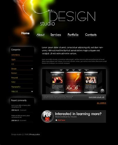 html design video toronto web design services from techtouch