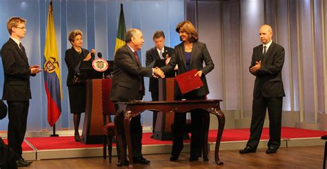 relaciones bilaterales con la firma de acuerdos de cooperacin colombia y brasil refrendan las