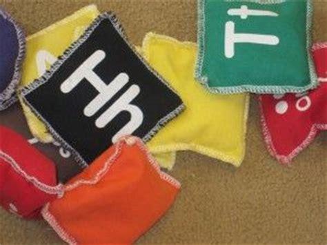 alphabet bean bags activities a simple bean bag your preschoolers will