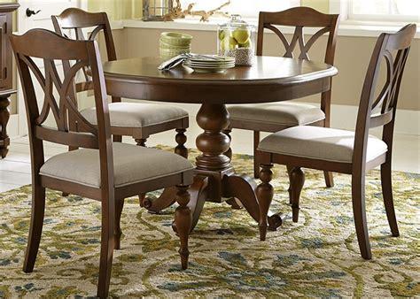 Meja Kayu Bundar meja makan bentuk bundar toko meja kayu
