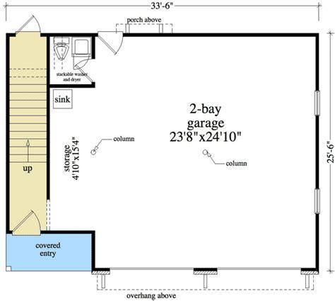 3 bay garage plans 2 bay garage apartment plan 29856rl 2nd floor master