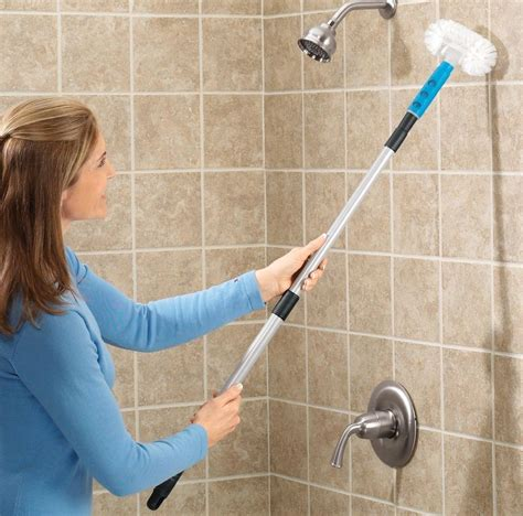 cleaning tiles in bathroom long handle tub scrubber bathtub telescopic tub