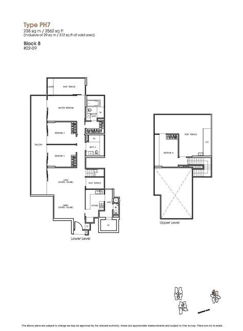 sle of floor plan penthouse 4 bed the trizon