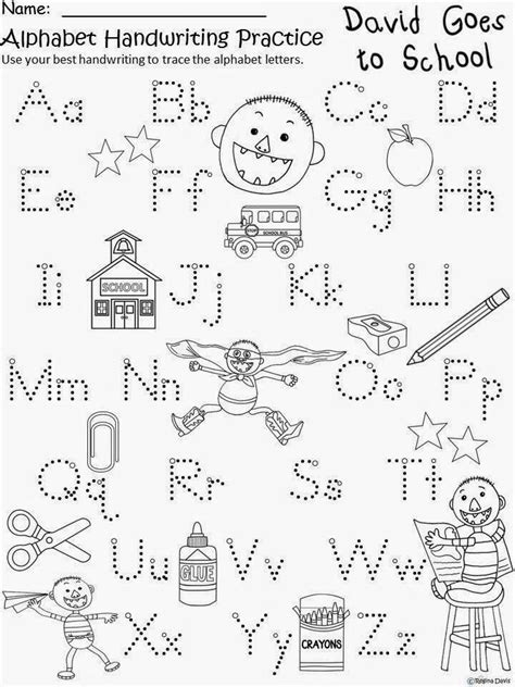 coloring pages for no david handwriting practice for david goes to school school