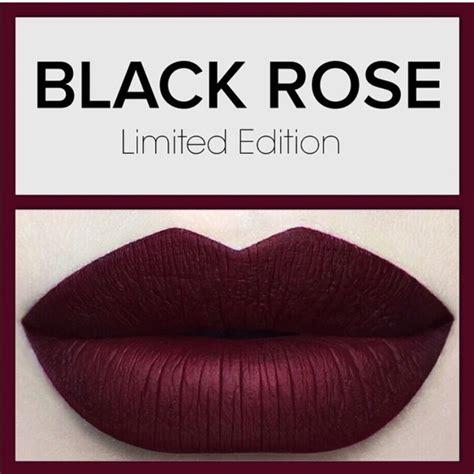 Dose Of Colours Liquid Lipstick In Black Dose Of Colors Dose Of Colors Liquid Matte Lipstick