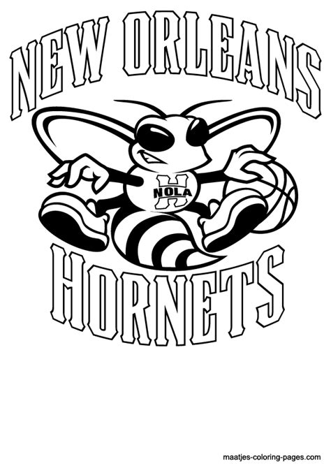 nba hornets coloring pages nba logo coloring pages coloring home