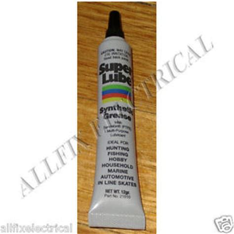Rotary Synthetic Hi Temp Grease superlube high temperature ptfe synthetic grease 12gm part sl21010 ebay