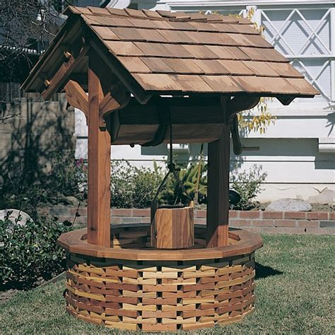 backyard well 1000 images about wishing wells on pinterest gardens planters and cedar wood