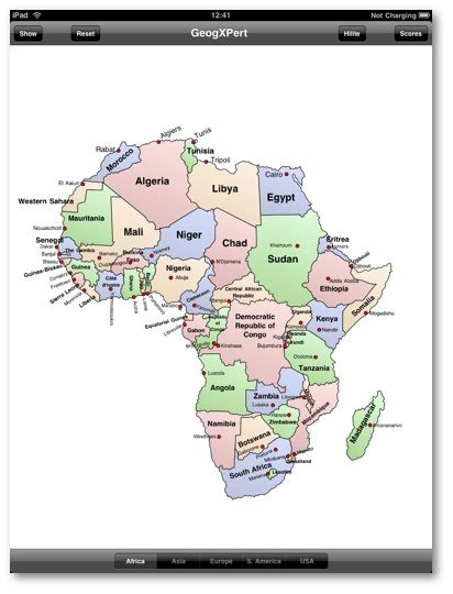 africa map quiz fill in map of africa quiz fill in