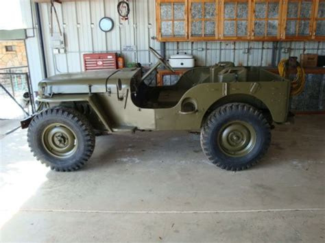 1951 Willys Jeep 1951 Willys Jeep M38 For Sale In Brackettville