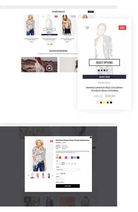 shopify themes app fashionable responsive fashion shopify template