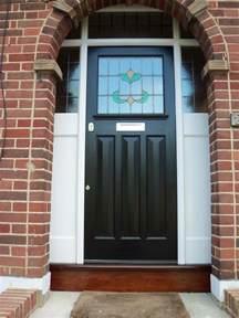 1920s Front Doors 1930s Door With Leaded Glass Grange Park 171 1920 S And 1930 S External Doors
