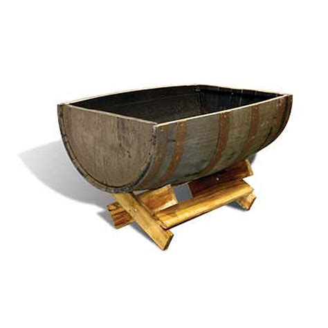 Whiskey Barrel Planter Casual Cottage Whiskey Barrel Planters