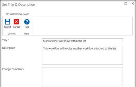 sharepoint workflow start another workflow start another workflow from within the primary nintex