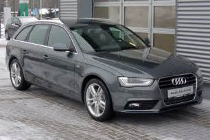 Audi A4 B8 2010 2010 Audi A4 Avant B8 Pictures Information And Specs