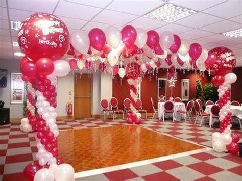como decorar un salon para hombre como adornar un salon para 15 a 241 os con globos youtube