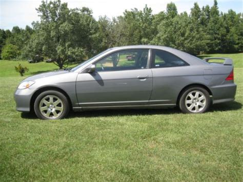 2005 honda civic 2 door for sale sell used 2005 honda civic ex coupe 2 door 1 7l in mebane