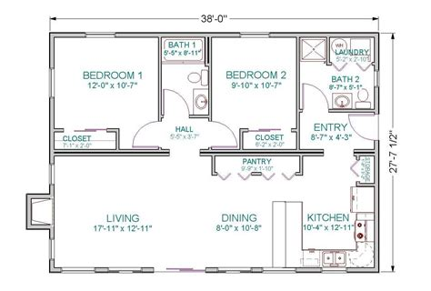 2 bedroom house plans open floor plan images and charming