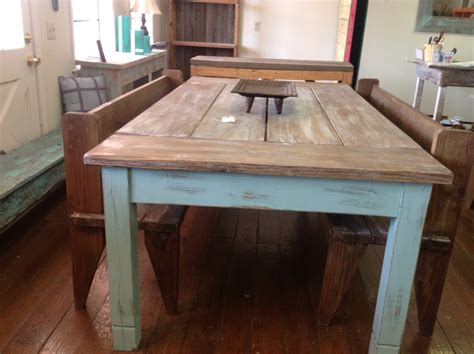 large kitchen tables with benches large farmhouse table