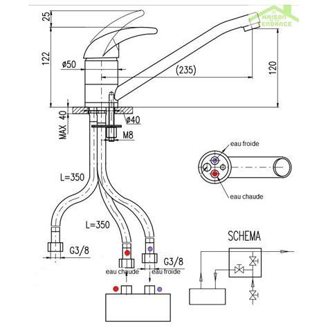 robinet lavabo basse pression en chrome maison de la