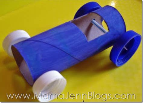 How To Make A Paper Race Car - there are so many crafts you can make with toilet