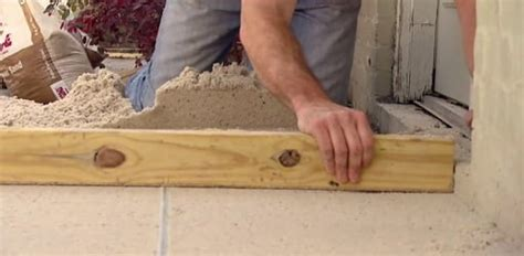 paver patio sand base leveling tip todays homeowner