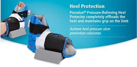 heel protectors for bed sores hollowcore fiber boot blue
