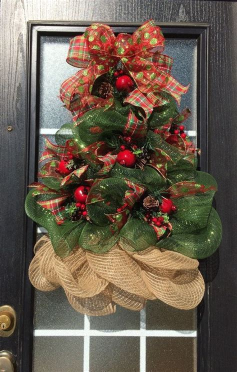 best 25 mesh christmas tree ideas on pinterest
