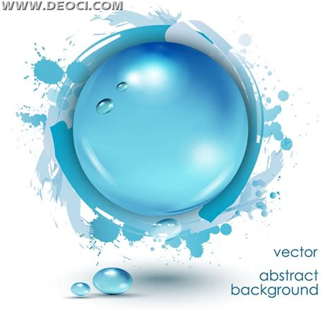 fashion abstract background water drops water polo eps