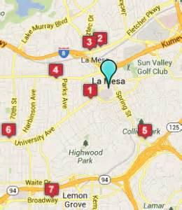 la mesa california map la mesa ca hotels motels see all discounts