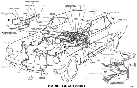 mustang parts diagram 1965 mustang wiring diagrams average joe restoration