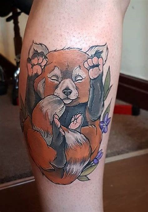 red panda tattoo meaning 25 best tattoo images on pinterest bear tattoos bears