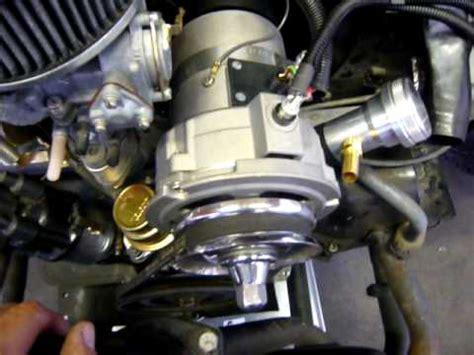 vw alternator conversion wiring guide youtube