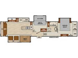 Fifth Wheel Bunkhouse Floor Plans 2016 Coachmen Chaparral 390qsmb Ebay