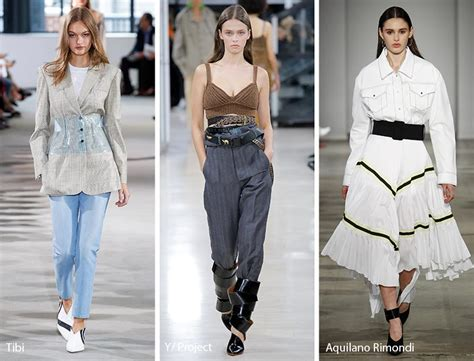 Summer 08 Trends On The Catwalk by Summer 2018 Fashion Trends Glowsly