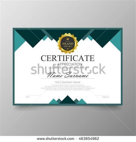 high school diploma certificate fancy design templates certificate template awards diploma background vector