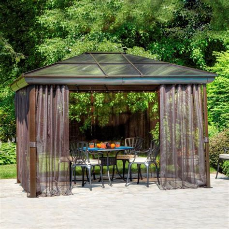 gazebo penguin gazebo penguin 43226 16 ft 2 in x 11 ft 11 in gazebo