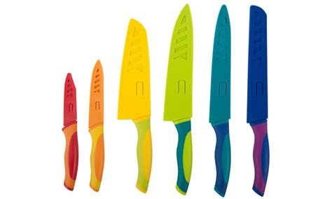 kitchen knives with sheaths kitchen colored knife set groupon goods