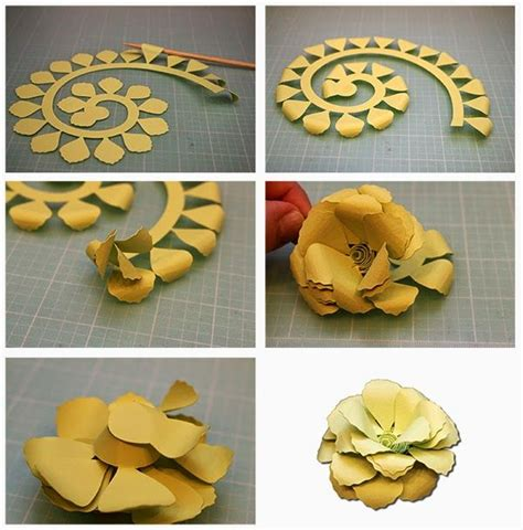 rolled paper roses template 25 unique rolled paper flowers ideas on paper