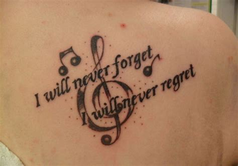 tattoo on your shoulder lyrics song 41 euphonious music tattoos creativefan