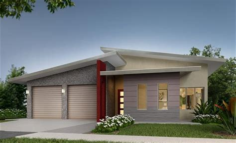 Modern House Plans Designs by Moreton Skillion Roof