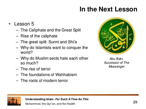 hadith muhammad s legacy in the and modern world foundations of islam books lesson 4 muhammad the quran and the hadith
